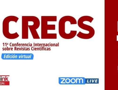 Gudinfo participa en la 11ª Conferencia internacional sobre revistas de Ciencias Sociales y Humanidades #CRECS21