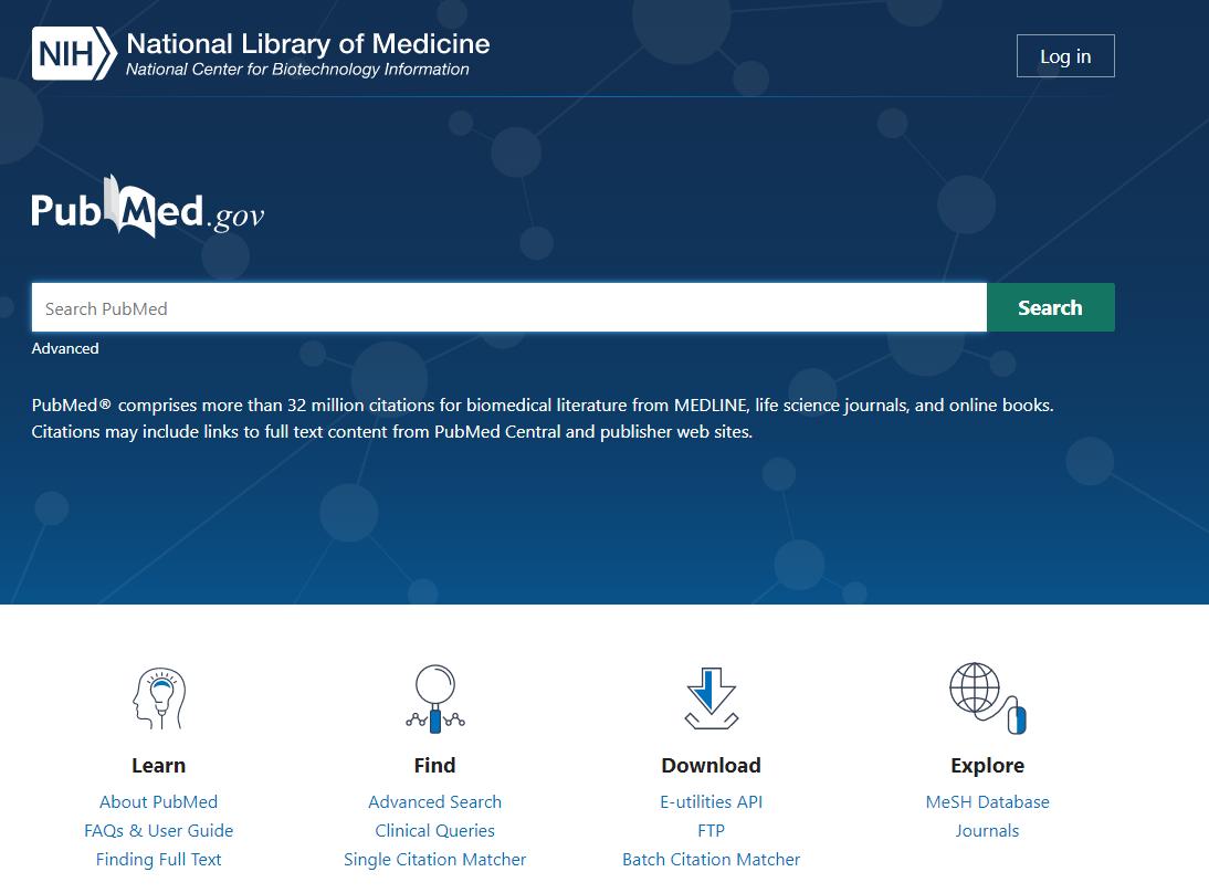 PubMed cambios Gudinfo